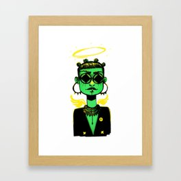 SupaGreen Framed Art Print