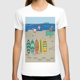 Afternoon at the beach (b) T-shirt