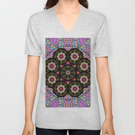 decorative ornate candy with soft candle light for peace Unisex V-Neck