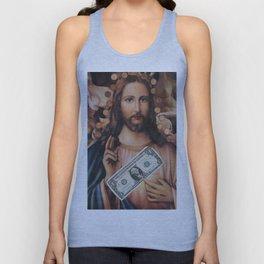Jesus loves sex Unisex Tank Top