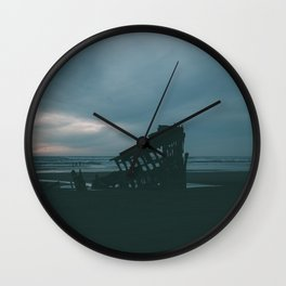 Shipwrecked Wall Clock
