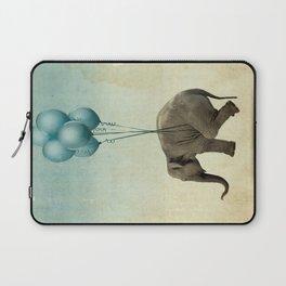 Levitating Elephant Laptop Sleeve