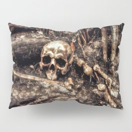 Bones In The Forest Pillow Sham