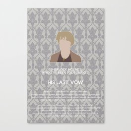 His Last Vow - Mrs. Hudson Canvas Print