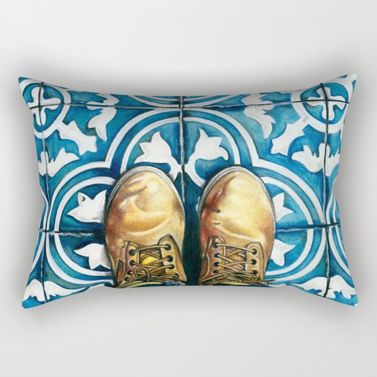 Art Beneath Our Feet - Mexico City Rectangular Pillow