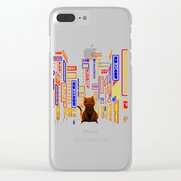 Tokyo Adventure Clear iPhone Case