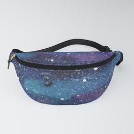 Galaxy Space Painting Stars Cosmic Universe Nebula Art Fanny Pack