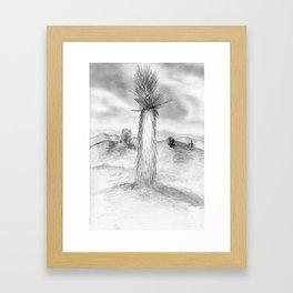 Lonely Joshua Framed Art Print