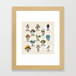 Skyrim Ingredient Illustrations Vol. 1 Framed Art Print