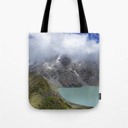 Montañas puras Tote Bag