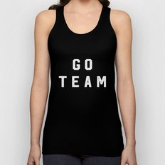 GO TEAM Unisex Tank Top