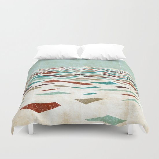 Sea Recollection Duvet Cover