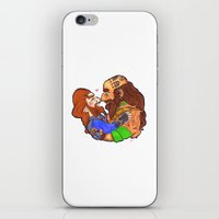 nori iPhone & iPod Skins featuring Small Nosebump  by BlueSparkle
