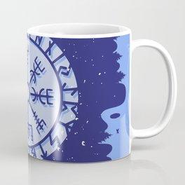 Viking Compass Nordic Symbols Coffee Mug