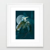 doom Framed Art Prints featuring DOOM by orlando arocena ~ olo409- Mexifunk