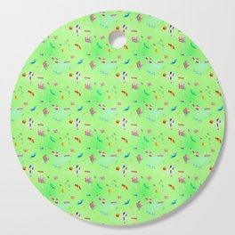 Candy (lime version) Cutting Board