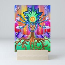 Mother Nature Craves Peace Mini Art Print