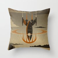 return Throw Pillows featuring The Return by Danny Haas