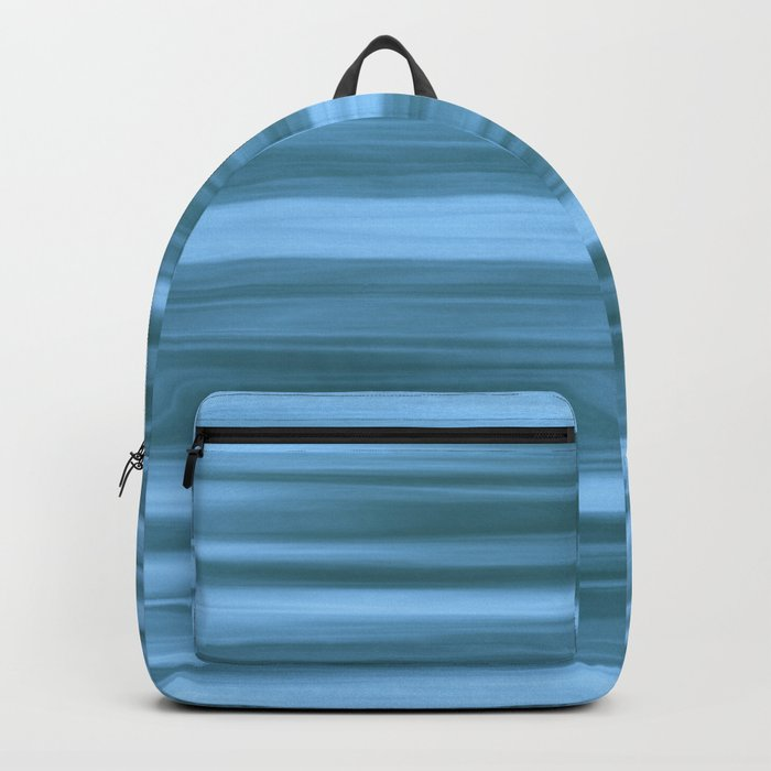 Abstraction Serenity in Ocean Backpack