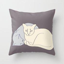 Snuggles Throw Pillow