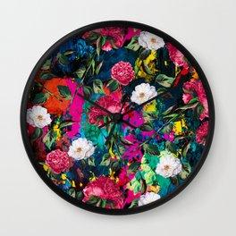 Floral Dream Wall Clock