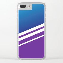 Stripes III Clear iPhone Case