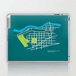 Brownes Addition / Peaceful Valley, Spokane Laptop & iPad Skin