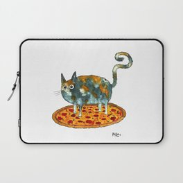 Pepperoni, Black Olives and Cat Laptop Sleeve