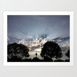SkyView Art Print