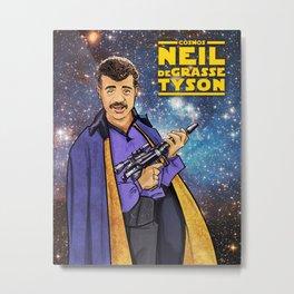 Neil deGrasse Tyson Cosplays Lando Calrissian Metal Print