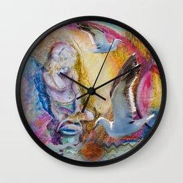 Bines Golden Sponge Wall Clock