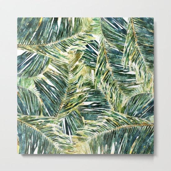 Classic Palm #society6 #decor #buyart Metal Print