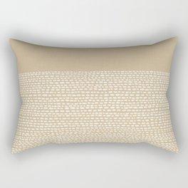 Riverside - Sand Rectangular Pillow