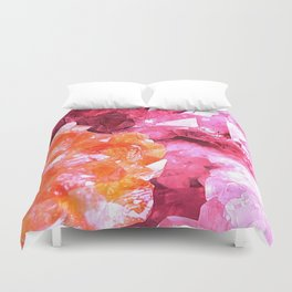 Crystal Abstract Duvet Cover