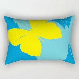 Butterfly design Rectangular Pillow