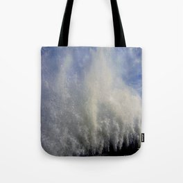 When Sandy Made Waves in Chicago #3 (Chicago Waves Collection) Tote Bag