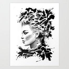 Torrential I Art Print