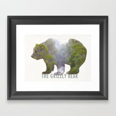 The Grizzly Bear Framed Art Print