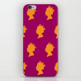 The Peoples Queen iPhone Skin