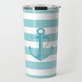AFE Nautical Aqua Ship Anchor Travel Mug
