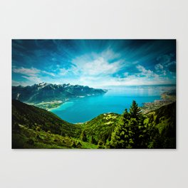 Lake Geneva Canvas Print