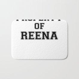 Property of REENA Bath Mat