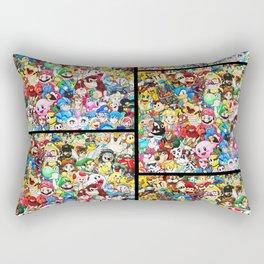 Nintendo Tribute Rectangular Pillow