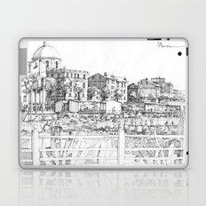 Spiagge a Pegli B&W Laptop & iPad Skin