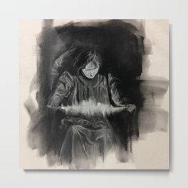 Eva Carriere Metal Print