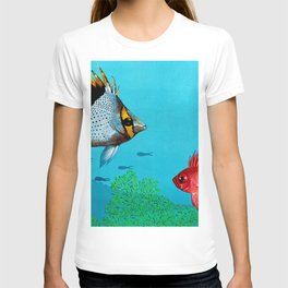 Butterfly & Bigeye fishes T-shirt