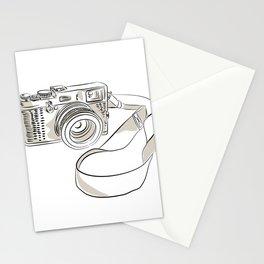 35mm SLR Film Camera Drawing Stationery Cards