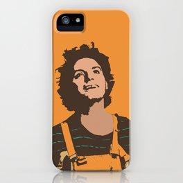 Orange Mac iPhone Case