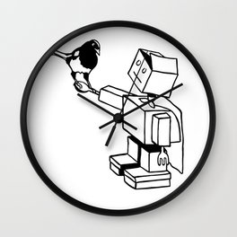 Use your powers for good Wall Clock