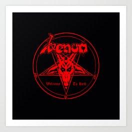 venom metal music Art Print